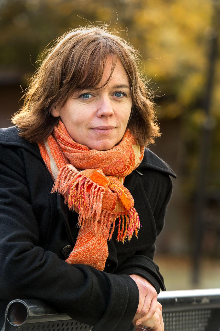 Bedrijfsfotografie zakelijk portret vrouw