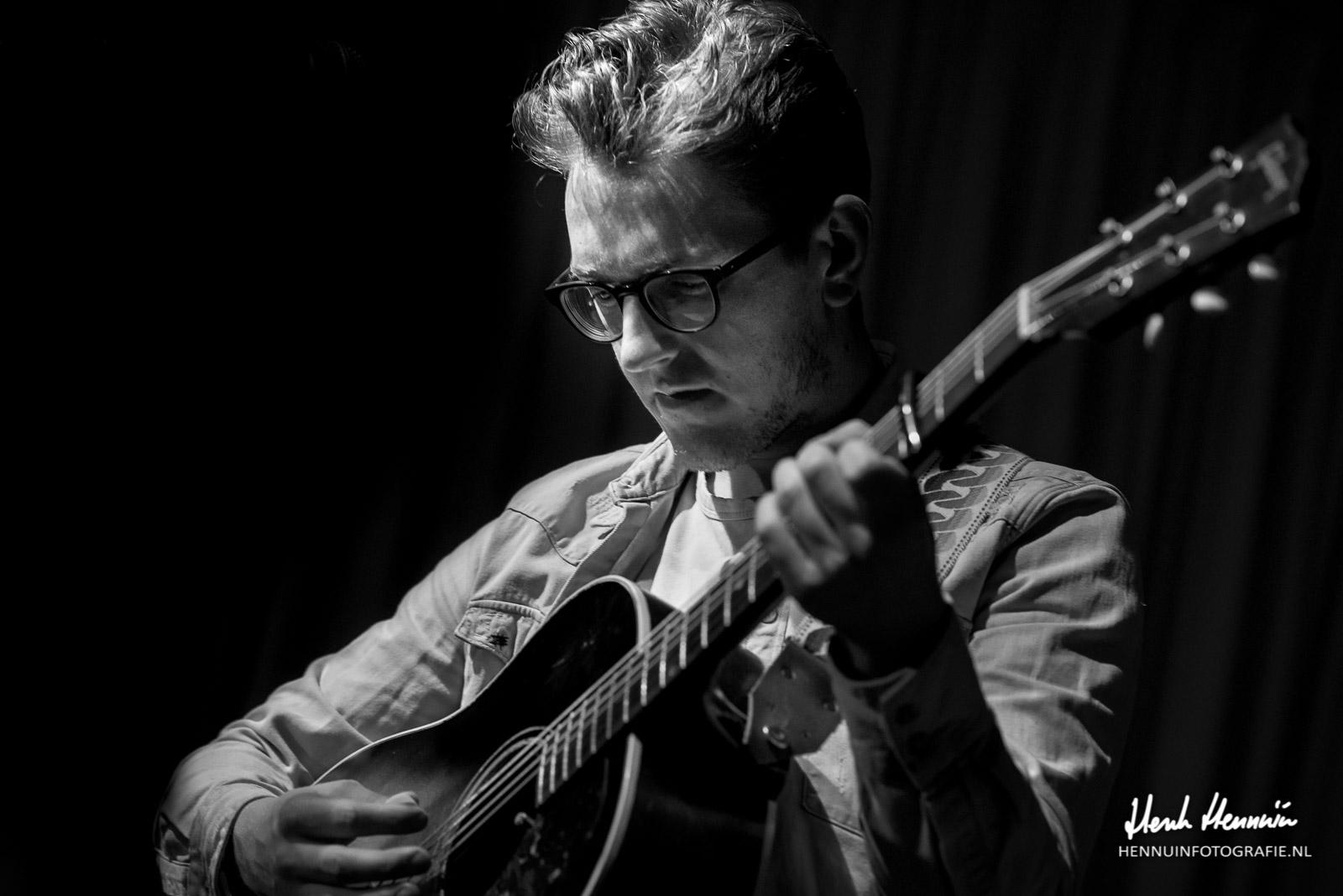 Maurice van Hoek Parelsessies Concertfoto closeup