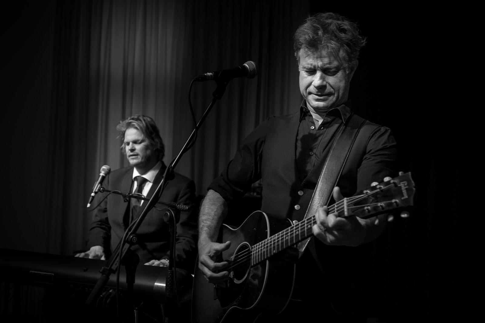 JW Roy en Roel Spanjers Parelsessies Concertfoto
