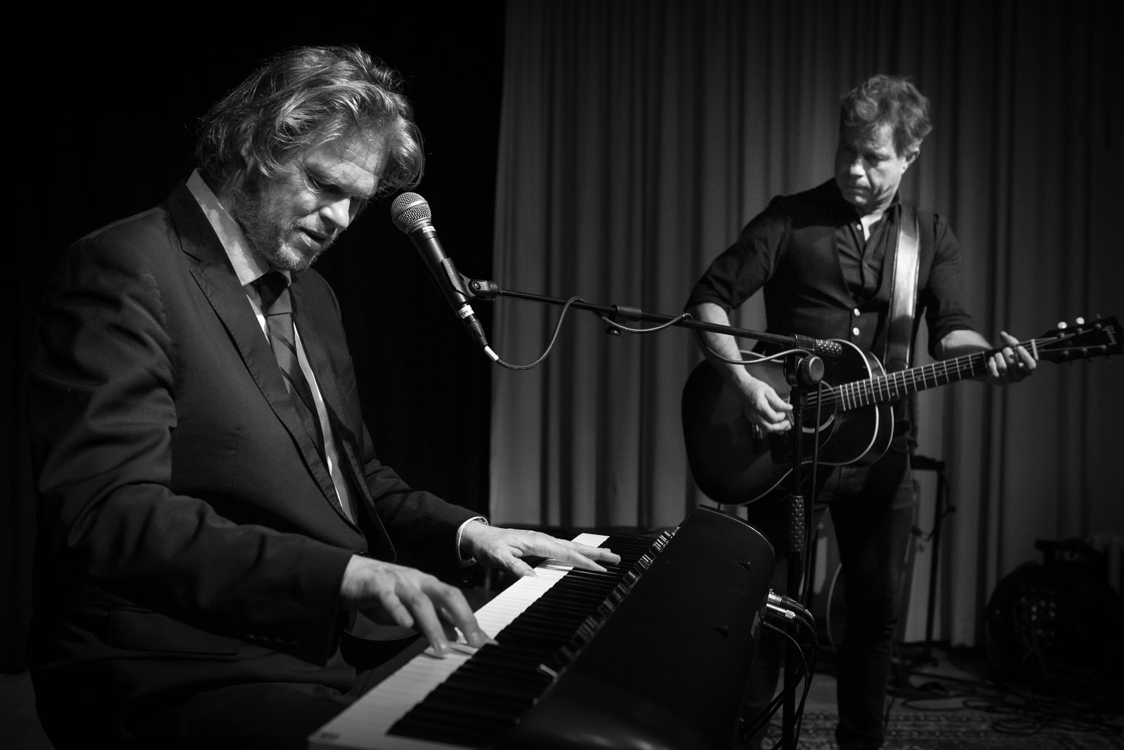 JW Roy en Roel Spanjers Parelsessies Concert