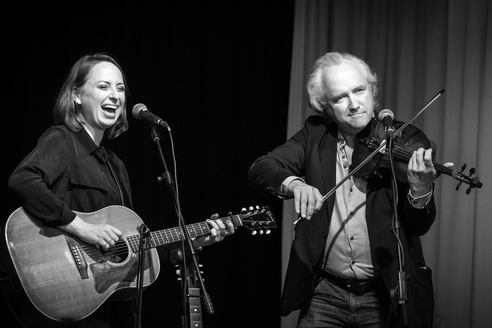 Stephanie Struijk met Joost van Es Parelsessies Concertfoto