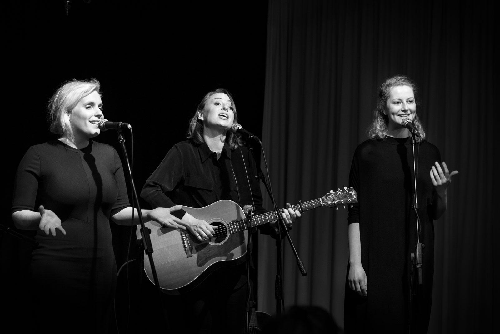 Stephanie Struijk backing vocals Parelsessies Concertfoto