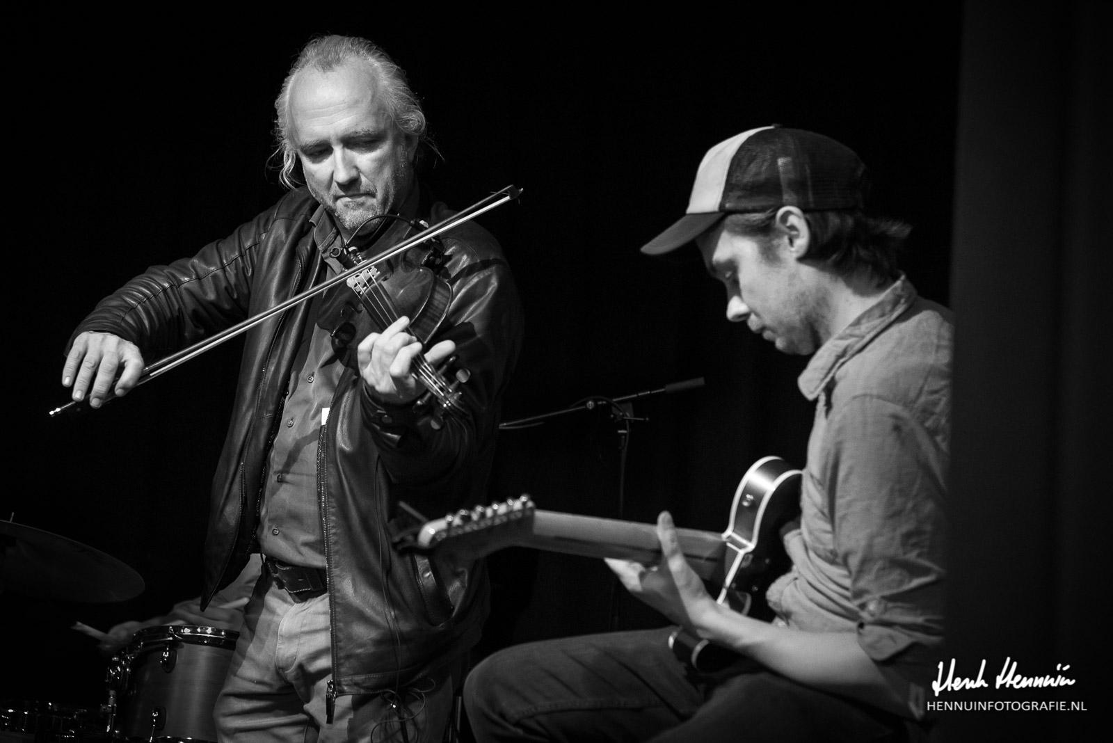 Cousin Hatfield Concertfoto met Joost van Es