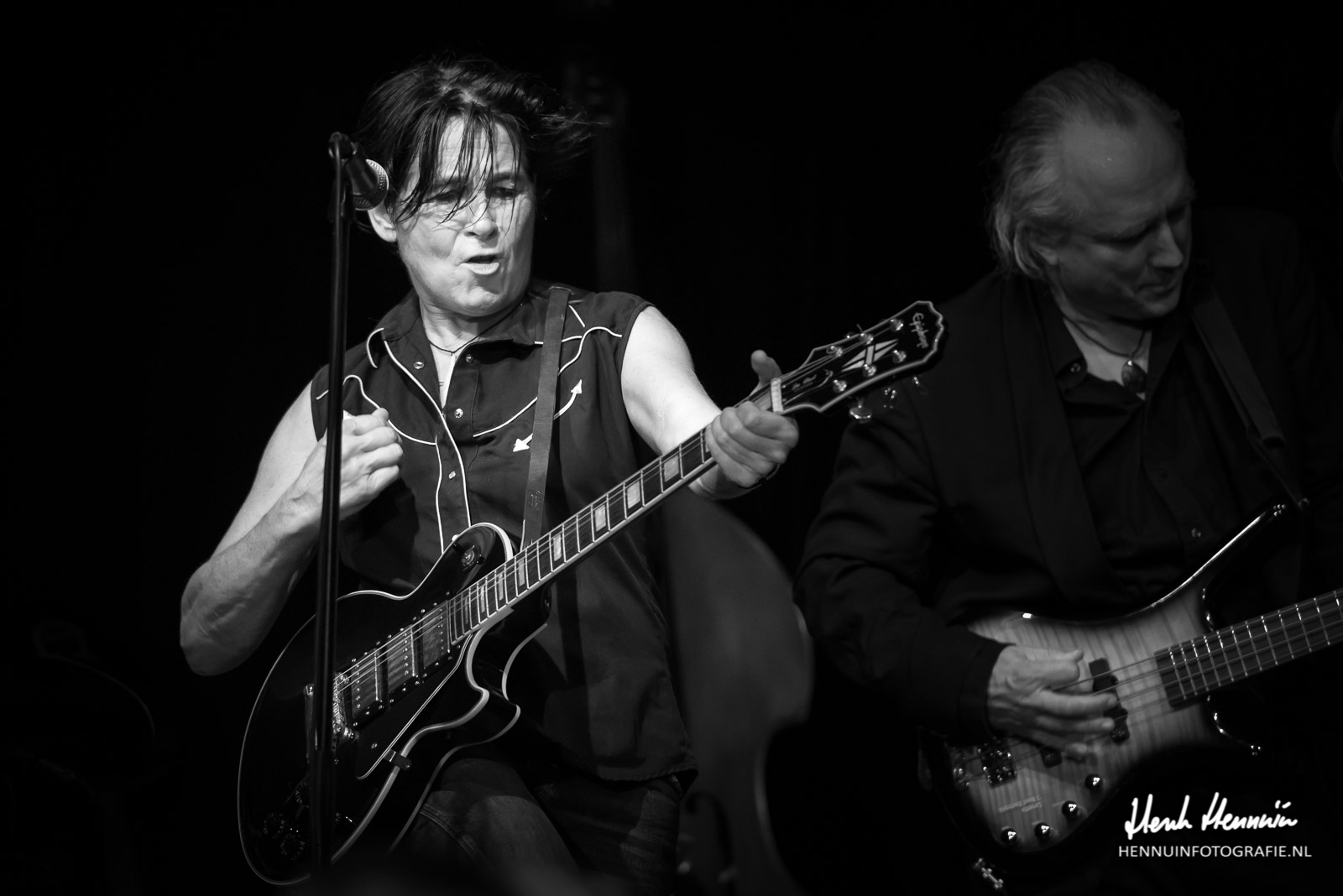 Frederique Spigt The Road Concert elektrische gitaar